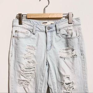Distressed Denim Boyfriend Jeans from Garage